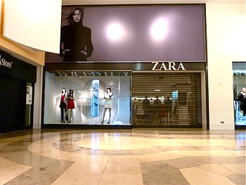 English: Zara in Oxford